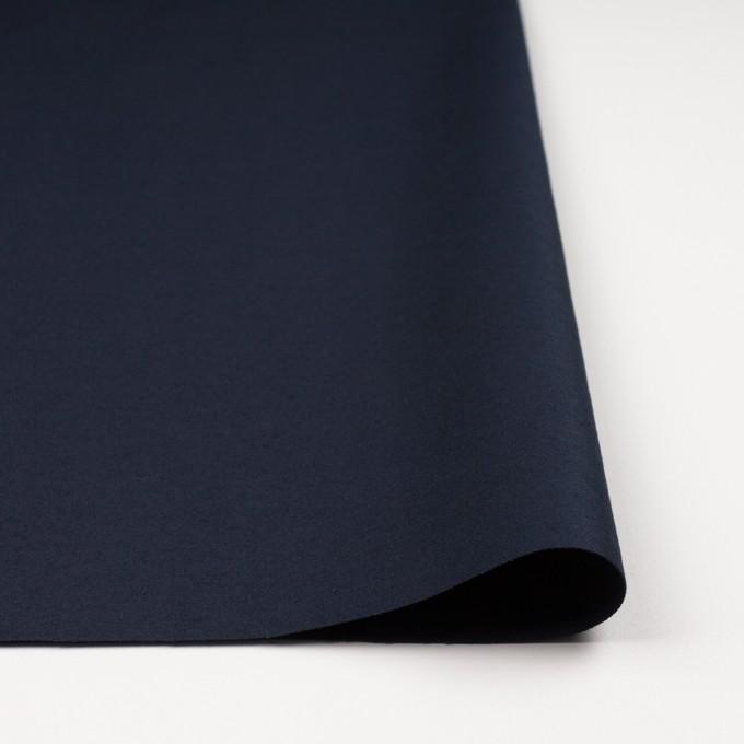 コットン&リネン×無地(ダークネイビー)×モールスキン_全3色 イメージ3
