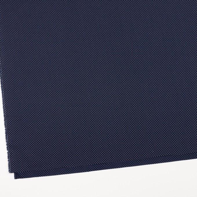 コットン×ドット(ネイビー)×ブロード イメージ2