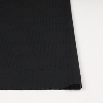 コットン×幾何学模様(ブラック)×ボイルジャガード サムネイル3