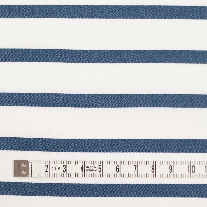 コットン×ボーダー(アッシュブルー)×ブロードジャガード イメージ4
