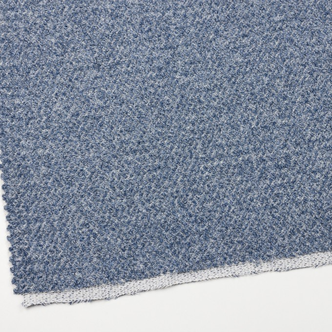 コットン×ミックス(ブルー)×かわり織 イメージ2