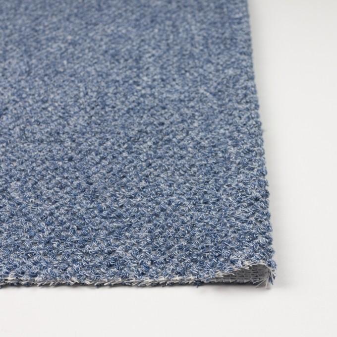 コットン×ミックス(ブルー)×かわり織 イメージ3