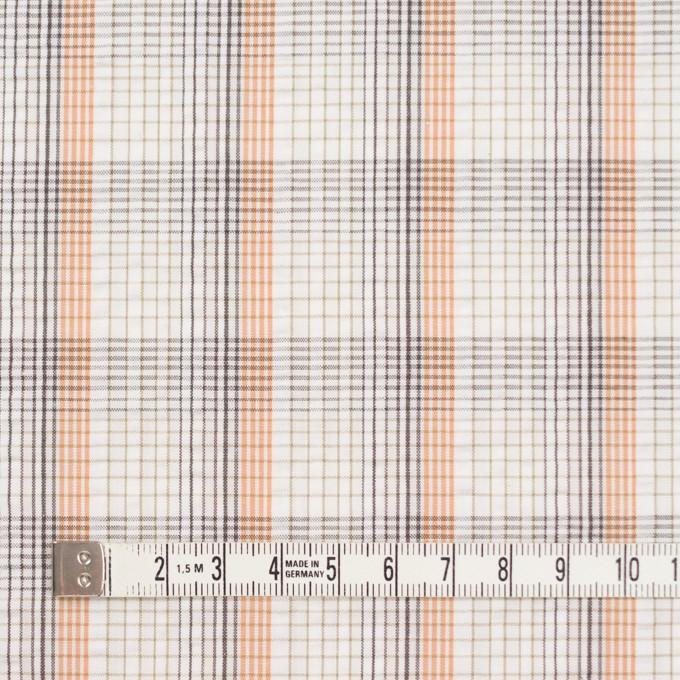 コットン×チェック(オレンジ)×サッカー_全3色 イメージ4