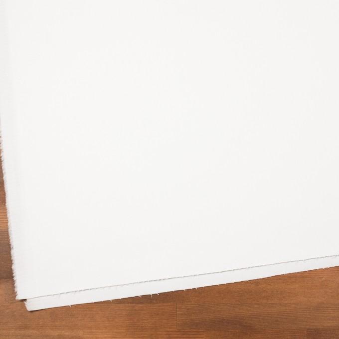 コットン&ポリウレタン×無地(オフホワイト)×カツラギストレッチ イメージ2