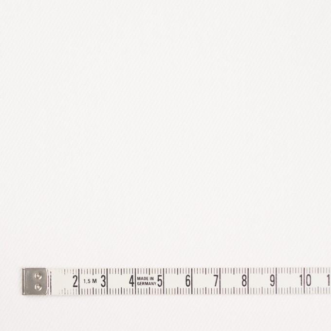コットン&ポリウレタン×無地(オフホワイト)×カツラギストレッチ イメージ4
