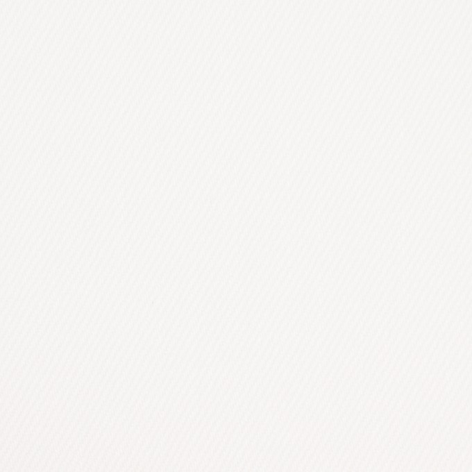 コットン&ポリウレタン×無地(オフホワイト)×カツラギストレッチ イメージ1