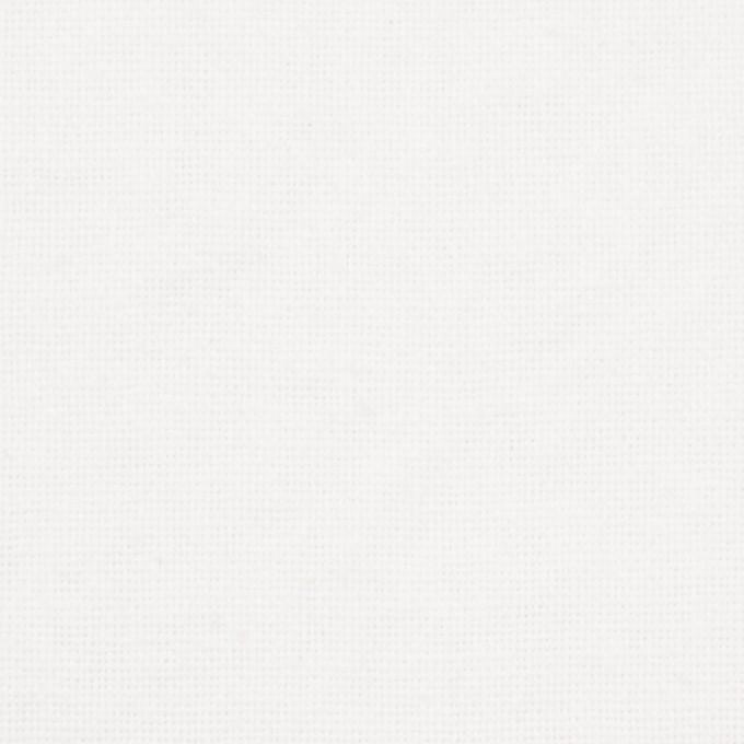コットン&ポリエステル×無地(ホワイト)×ソフトキャンバス_全2色 イメージ1