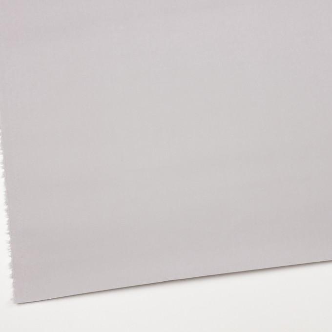 コットン×無地(シルバーグレー)×チノクロス_パラフィン加工_全2色 イメージ2