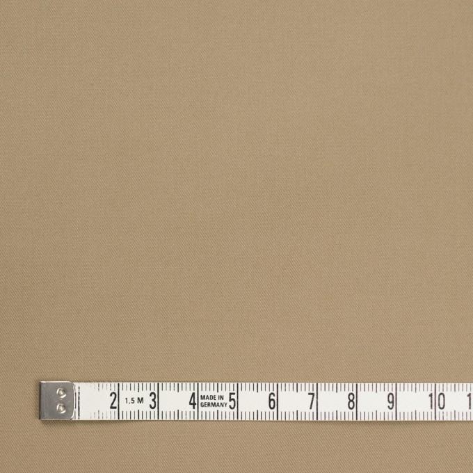 コットン×無地(カーキベージュ)×チノクロス_パラフィン加工_全2色 イメージ4