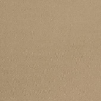 コットン×無地(カーキベージュ)×チノクロス_パラフィン加工_全2色