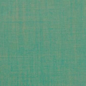 コットン×無地(エメラルドグリーン)×シャンブレー サムネイル1
