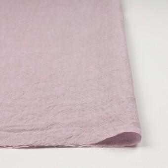 リネン×無地(グレイッシュピンク)×薄キャンバスワッシャー_全3色 サムネイル3