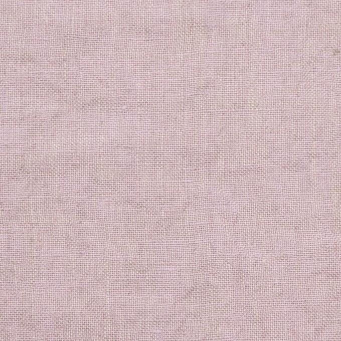 リネン×無地(グレイッシュピンク)×薄キャンバスワッシャー_全3色 イメージ1