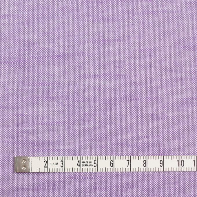 コットン&リネン×無地(モーブ)×オックスフォードシャンブレー イメージ4