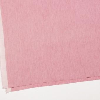 リネン&コットン×無地(ローズピンク)×薄キャンバス_全2色 サムネイル2