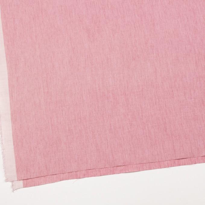 リネン&コットン×無地(ローズピンク)×薄キャンバス_全2色 イメージ2