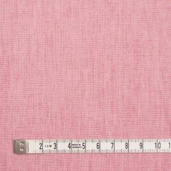 リネン&コットン×無地(ローズピンク)×薄キャンバス_全2色 サムネイル4