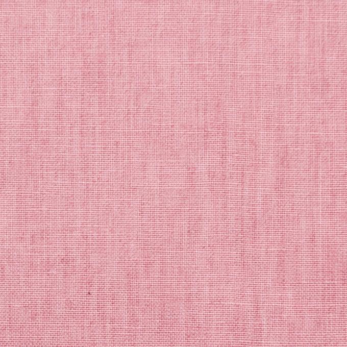 リネン&コットン×無地(ローズピンク)×薄キャンバス_全2色 イメージ1