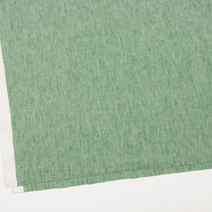 リネン&コットン×無地(フォレストグリーン)×薄キャンバス_全2色 イメージ2