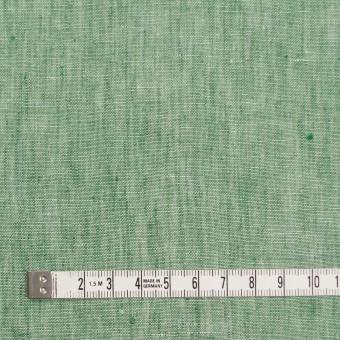 リネン&コットン×無地(フォレストグリーン)×薄キャンバス_全2色 サムネイル4