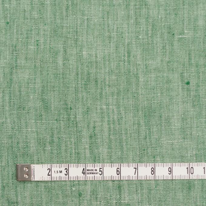 リネン&コットン×無地(フォレストグリーン)×薄キャンバス_全2色 イメージ4