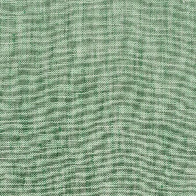 リネン&コットン×無地(フォレストグリーン)×薄キャンバス_全2色 イメージ1