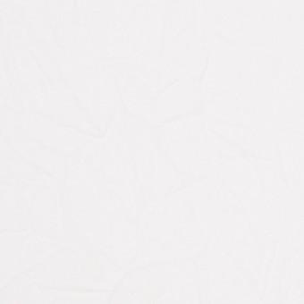 コットン&リネン×無地(ホワイト)×ボイルワッシャー_全5色