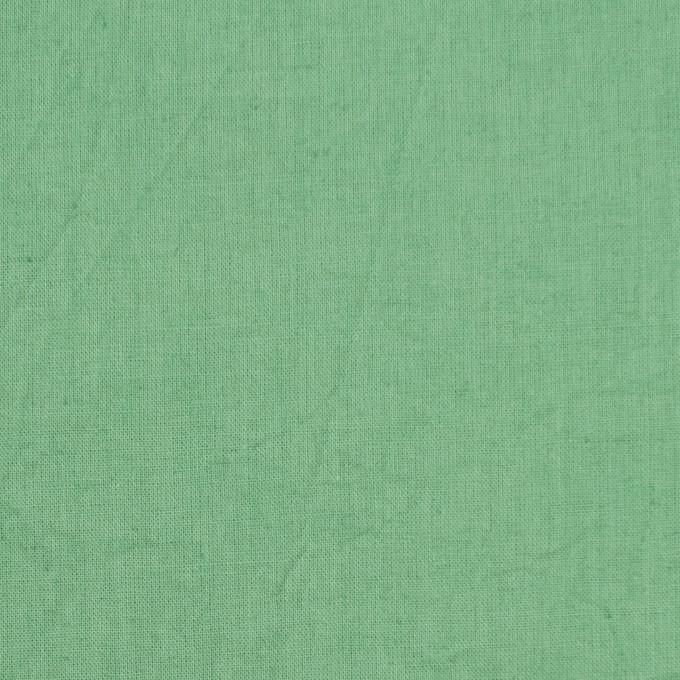 コットン&リネン×無地(グリーン)×ボイルワッシャー_全5色 イメージ1