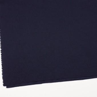 コットン&リネン×無地(ネイビー)×ボイルワッシャー_全5色 サムネイル2