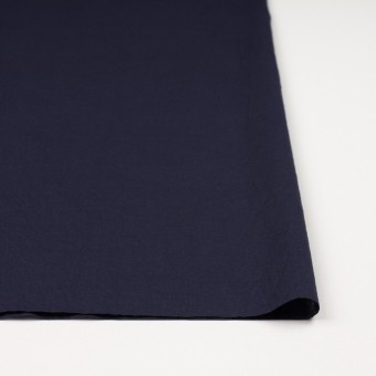 コットン&リネン×無地(ネイビー)×ボイルワッシャー_全5色 サムネイル3