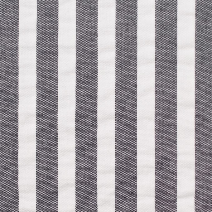 コットン×ストライプ(チャコールグレー)×サッカー_全2色 イメージ1