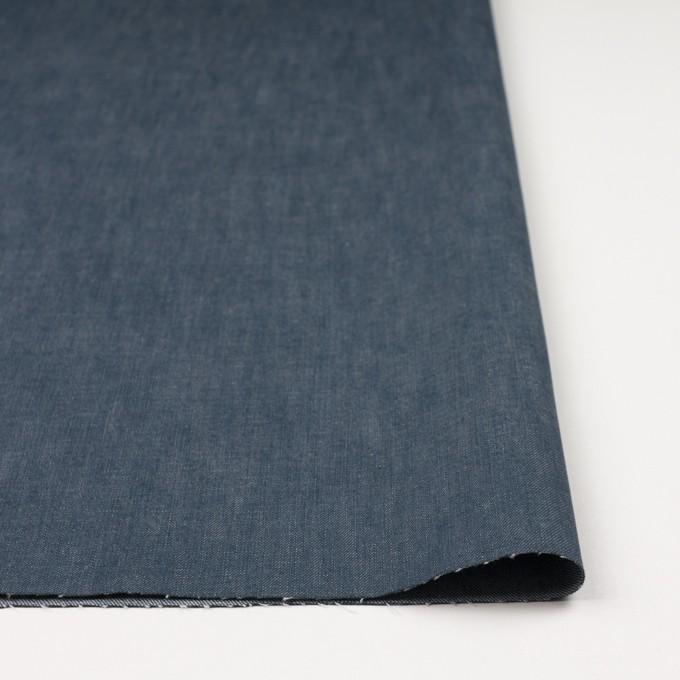 コットン×無地(インクブルー)×デニム イメージ3