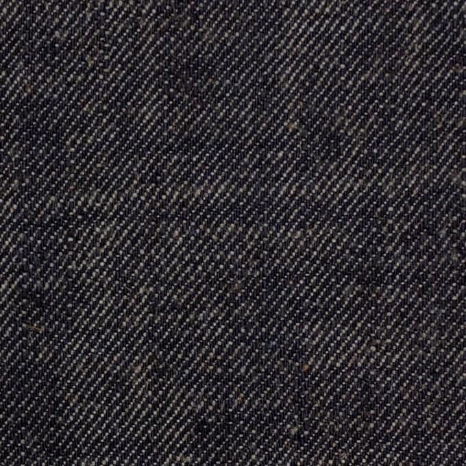 コットン&リネン×無地(インディゴ)×デニム イメージ1