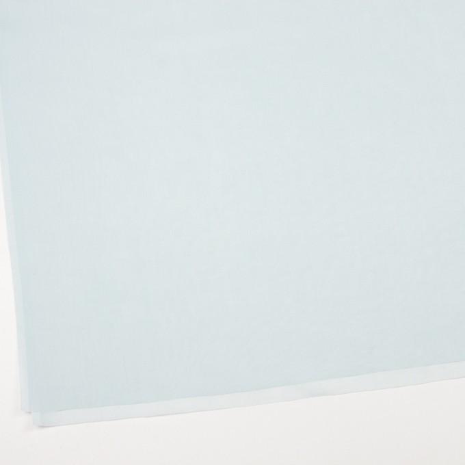 コットン×無地(シャーベットブルー)×ボイル_全9色_フランス製 イメージ2