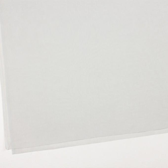コットン×無地(オイスターグレー)×ボイル_全9色_フランス製 イメージ2