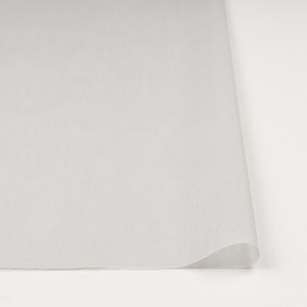 コットン×無地(オイスターグレー)×ボイル_全9色_フランス製 サムネイル3