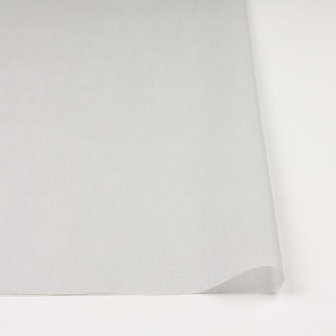 コットン×無地(オイスターグレー)×ボイル_全9色_フランス製 イメージ3