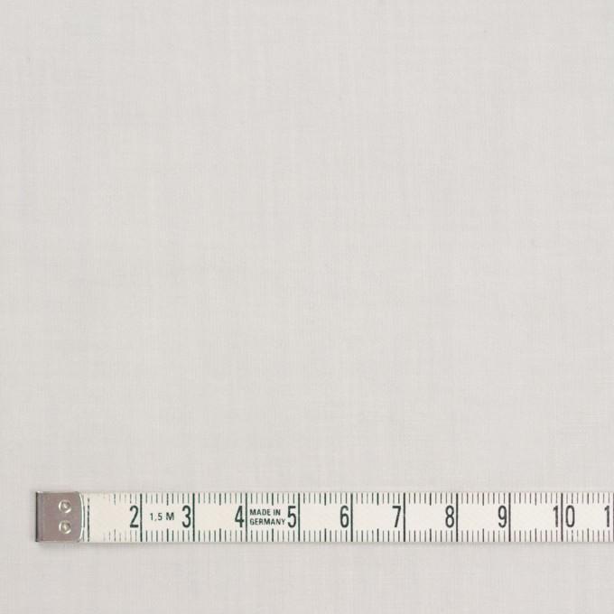 コットン×無地(オイスターグレー)×ボイル_全9色_フランス製 イメージ4