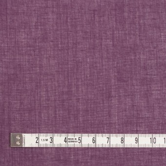 コットン×無地(プラムパープル)×ボイル_全9色_フランス製 サムネイル4