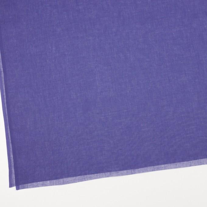コットン×無地(バイオレット)×ボイル_全9色_フランス製 イメージ2