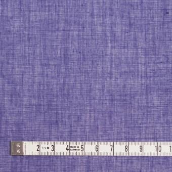 コットン×無地(バイオレット)×ボイル_全9色_フランス製 サムネイル4