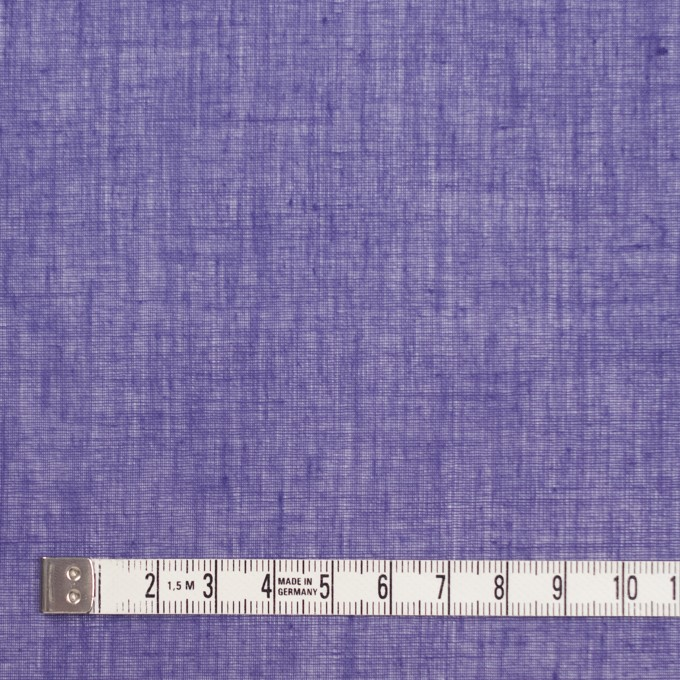 コットン×無地(バイオレット)×ボイル_全9色_フランス製 イメージ4