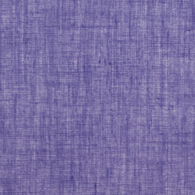 コットン×無地(バイオレット)×ボイル_全9色_フランス製 イメージ1