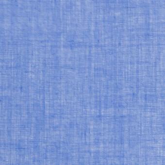 コットン×無地(ダッジブルー)×ボイル_全9色_フランス製 サムネイル1