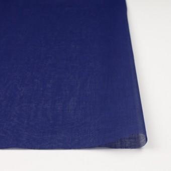 コットン×無地(プルシアンブルー)×ボイル_全9色_フランス製 サムネイル3
