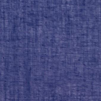 コットン×無地(プルシアンブルー)×ボイル_全9色_フランス製 サムネイル1