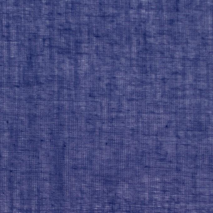 コットン×無地(プルシアンブルー)×ボイル_全9色_フランス製 イメージ1