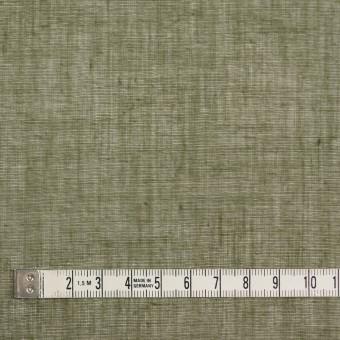 コットン×無地(カーキグリーン)×ボイル_全9色_フランス製 サムネイル4