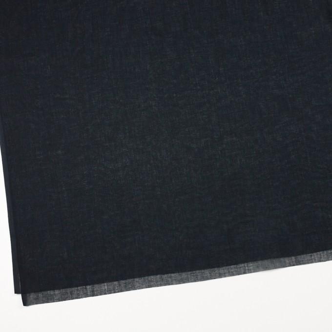 コットン×無地(ブラック)×ボイル_全9色_フランス製 イメージ2