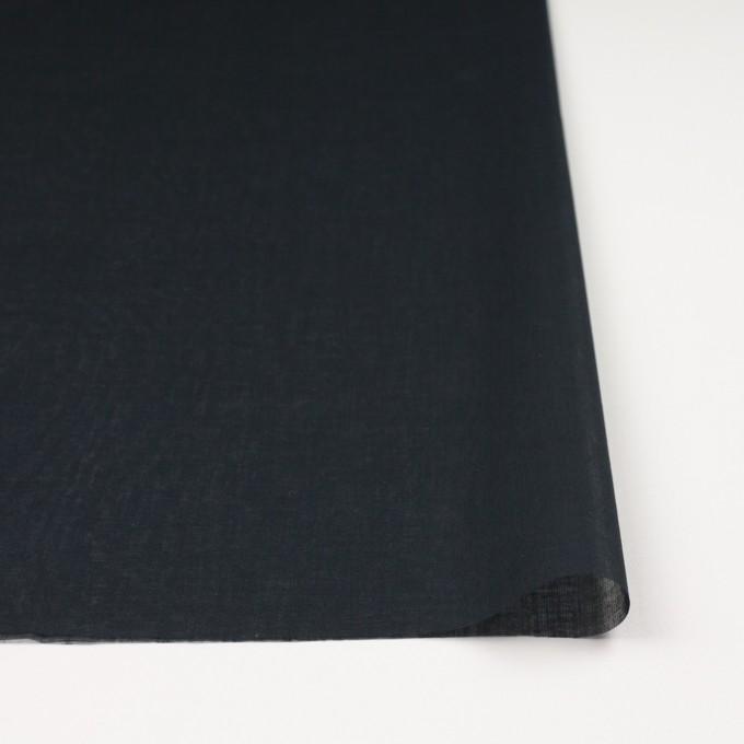 コットン×無地(ブラック)×ボイル_全9色_フランス製 イメージ3